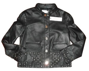 Versace Leather Runway Leather Jacket