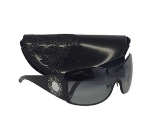 Versace Black Embellished Sunglasses