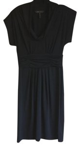 BCBGMAXAZRIA Lbd Short Sleeve Cowl Neck Dress