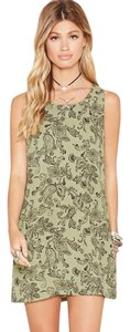Forever 21 short dress Olive/Black on Tradesy