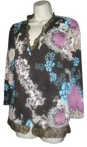 Alberto Makali Floral 2 Piece Camisole Top Multicolored