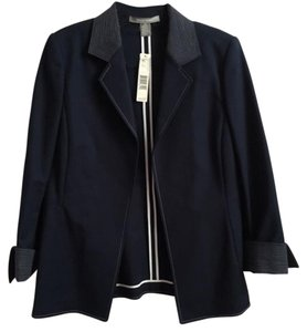 Ellen Tracy Navy Blue Blazer