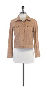 Marc Jacobs Tan Corduroy Jacket