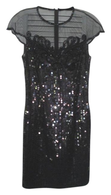 Preload https://item4.tradesy.com/images/niteline-black-sequin-and-beaded-above-knee-cocktail-dress-size-4-s-199868-0-0.jpg?width=400&height=650