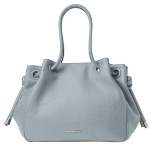 Michael Kors Shoppers Cement Tote in dusty blue