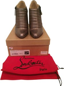 Christian Louboutin Pewter Boots