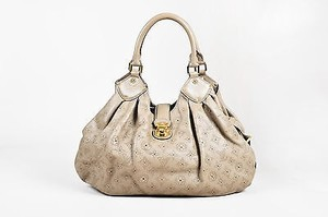 Louis Vuitton Gray Monogram Tote in Taupe