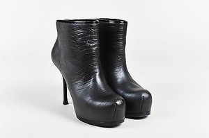 Saint Laurent Yves Tribtoo Black Boots