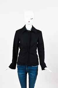 Lanvin Wool Cashmere Black Jacket