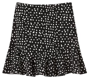 Banana Republic Mini Skirt Black and white