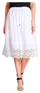 Vince Camuto Skirt Ultra White