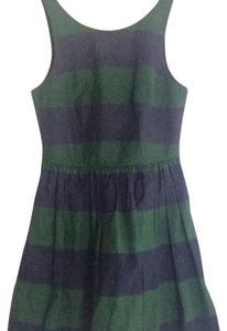 Abercrombie & Fitch short dress Navy Blue and Forest Green on Tradesy