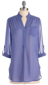 Modcloth Top Purple