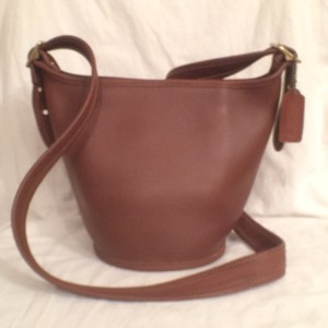 Coach Legacy Leather Bucket Vintage Cross Body Bag