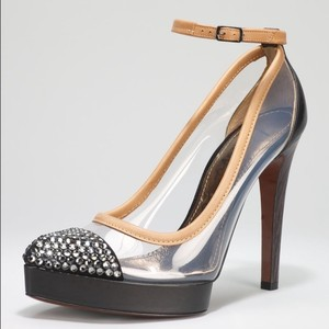 Lanvin Heels Clear Swavroski Crystals Pumps