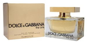 Dolce&Gabbana Dolce & Gabbana The One 2.5 oz 75 ml Eau De Parfum Spray