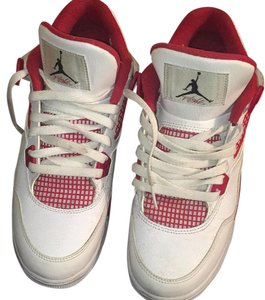 Air Jordan White/Black-Gym Red Athletic