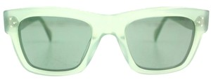 Céline Green Transparent Retro Sunglasses New CL41732