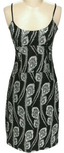 Trina Turk Metallic Damask Shift Sleeveless Dress