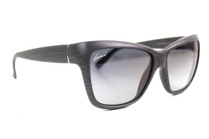 Gucci Cat Eye Grey Wood Bio Based Sunglasses New GG3655
