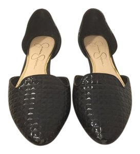 Jessica Simpson Patent Leather black Flats