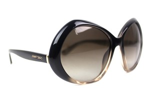 Jimmy Choo Angy Butterfly Oversized Sunglasses New