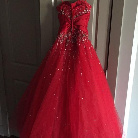 best Mori Lee Red By Madeline Gardner Dress - 59% Off Retail
