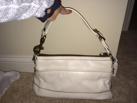 Coach Satchel in white Image 1