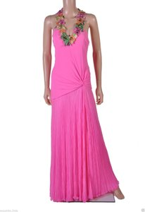 Versace Gown Crystal Embroidered Dress