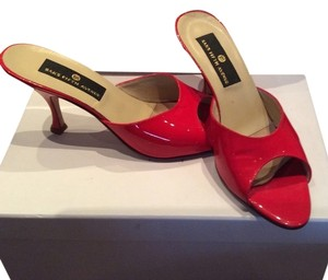 Saks Fifth Avenue Red patent Sandals