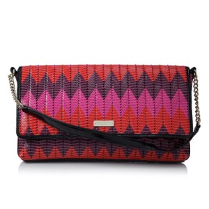 Kate Spade Pink, Red, Purple Clutch