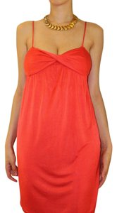 Diane von Furstenberg Red Sexy Coctail Short Dvf Dress