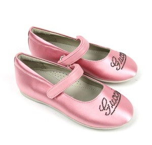 "Gucci Pink W ""Daisy"" Ballet Flat W/Strass G 25/ Us 9 271301 Shoes"