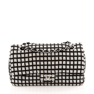 Chanel Canvas Black Clutch