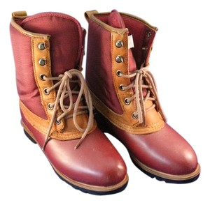 Lands' End Brick Red Boots