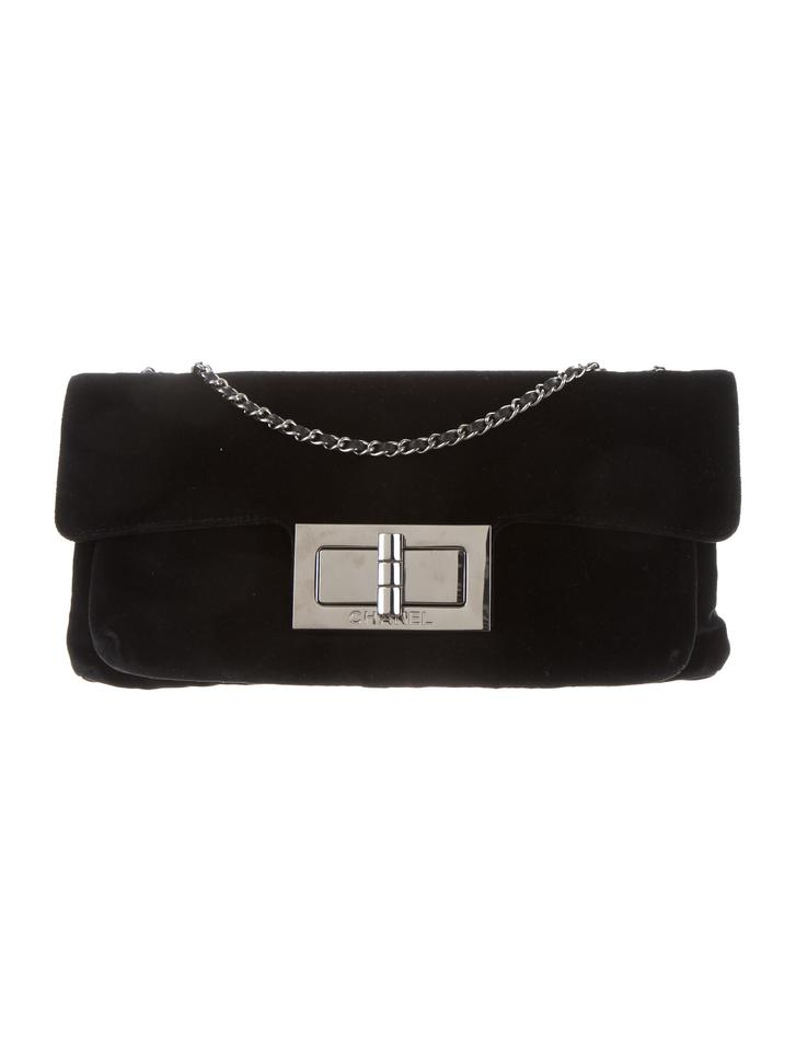 Chanel Mademoiselle Classic Flap With Gunmetal Hardware Black Velvet ... a3e85b835d