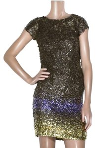 Oscar de la Renta Sequin Dress