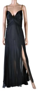 Versace Silk Chiffon Gown Dress