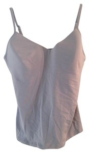 New York & Company Adjustable Straps Bodyshaper Top Lavender-Gray