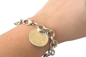Tiffany & Co. Tiffany & Co Circle Tag Chain Link Bracelet