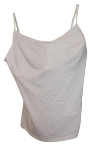 New York & Company Adjustable Straps Bodyshaper Top White