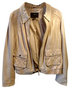 Miss Sixty Camel Leather Jacket