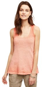 Anthropologie Akemi+kin Casual Ombre Resort Top Red