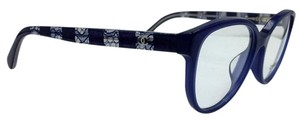 Chanel Attractive Blue Lace Cat Eye Chanel Eyeglasses 3292-A c.1483 54