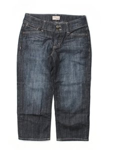 Gap Capri/Cropped Denim-Dark Rinse
