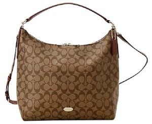 Coach F34910 Signature Canvass Womens Convertible Hobo Bag