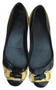 Gucci BLACK AND YELLOW Flats