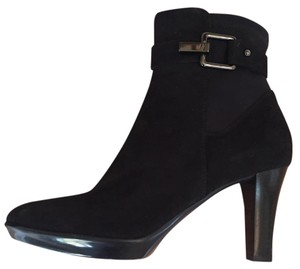 Aquatalia by Marvin K. Suede Black Suede Boots