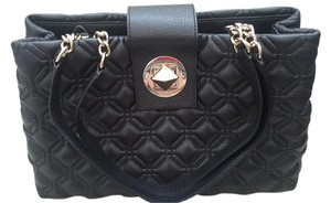 Kate Spade Quilted Leather Work Shoulder Bag