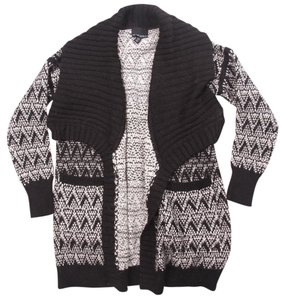 Cynthia Rowley Wrap Sweater Drape Wrap Sweatercoat Cardigan